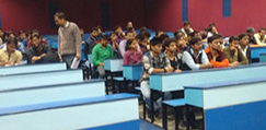 Classrooms in Dr.KN Modi Foundation College