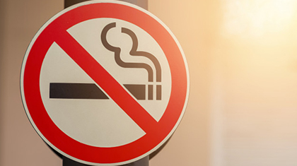 No Smoking zone at Dr.KN Modi Foundation College
