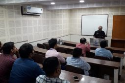 Guest lecture on energy generation by biogas By Prof. Dr. Nindhia