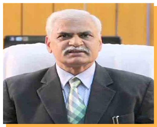 Prof (Dr) Rakesh Kumar Khandal (Chief Mentor)