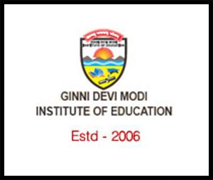 Ginni Devi Modi Institute of Education (B.Ed - Only for Girls)