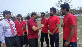 Sports in KN Modi College
