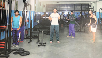 KN Modi Foundation College Gym