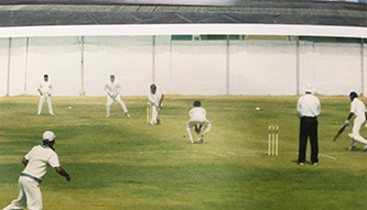 Cricket in KN Modi Foundation College