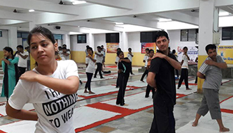 Dr. KN Modi Foundation College Exercise