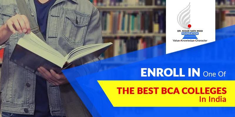 best BCA colleges in India
